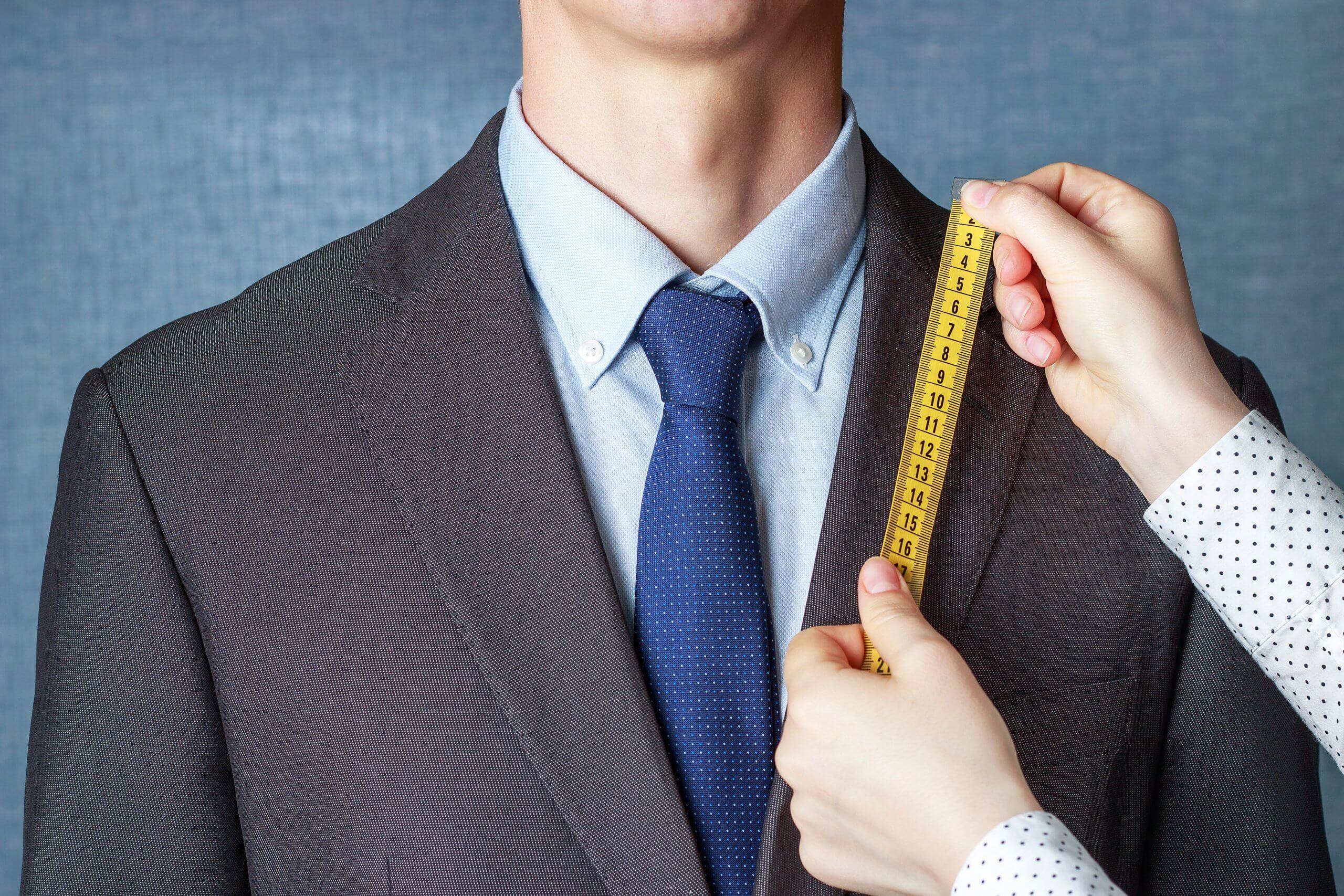 サイズを測る