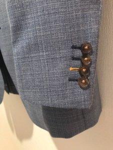 ジャケットの袖口